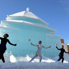 Ice sculpture photos of Sapporo Snow and Ice Festival in Japan are going viral. The snow festival in Hokkaido offers cool pictures of snow sculptures and fun cold-weather activities.