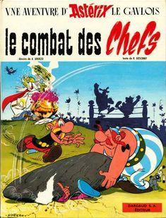 Astérix -7- Le combat des chefs  -  1966