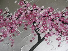 Pretty Japanese Cherry Blossom Art Print