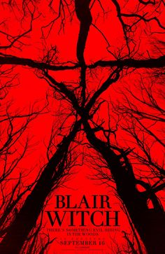 Blair Witch - 2016 -- awful! If this had been the first film it would have been good but it's basically just a bad rehash of the first