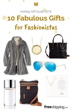Holiday shopping made easy for the fashionable ladies on your list!