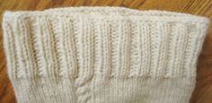 Technique - Knitting Cast Off with More Stretch - Luxe DIY - How Did You Make This?