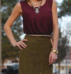 Tweed-tastic Textures   Olivia Pope style