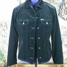 Faconnable black lined jacket Velveteen  black lined Nordstrom's Faconnable button down jacket Faconnable  Jackets & Coats