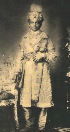 HH Sir Sri Maharajah Chamarajendra IX Wodiyar of Mysore (1863-1894).