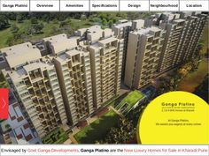 Ganga Platino Redefines New Residential Property in Kharadi Pune for Sale