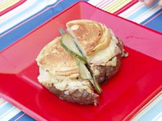 Cuban-Style Burger Recipe - These are the best burgers ever! Bobby Flay recipe