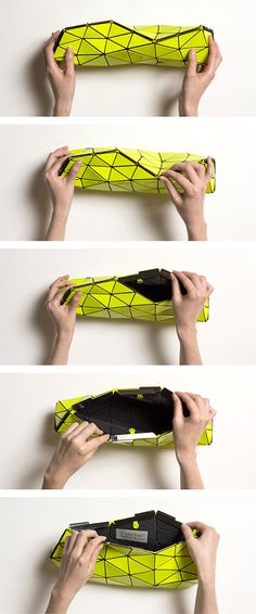 Distortion bag BAO BAO Issey Miyake