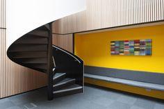 Brown Rudnick Atrium by Brady Mallalieu Architects & EeStairs, London   UK office