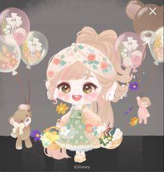 Cute Screen Savers, Anime Dress, Little Doll, Character Outfits, Sweet Girls, Game Design, Tea Party, Kawaii, Dolls