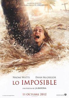 Una de las mejores películas del año, Lo Imposible, se estrena ya en DVD…
