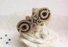 Soutache bracelet Soutache set Soutache jewelry by JaneEJewelry