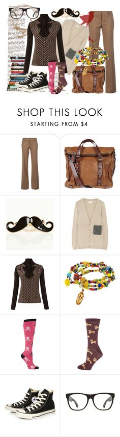 """fem dr Spencer Reid"" by ajka87 ❤ liked on Polyvore featuring Dsquared2, MuuBaa, Chinti and Parker, Weekend Max Mara, Sock It To Me, Dorothy Perkins, Converse, RetroSuperFuture and criminal minds"