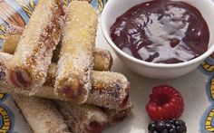 The kids and I saw this on t.v. last night and they have their heart set on  making them.  MEXICAN FRENCH TOAST ROLLS