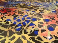 Pigmentos con latex