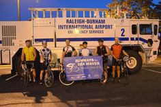 The Raleigh-Durham International Airport (RDU) employees are gearing up for their 2nd Runways to Sea Waves Mission Ride 2014, to help benefit the Durham Rescue Mission ... We'd like to thank all who help and participate in this great event!
