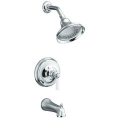 Kohler KT105814PCP/K304K Bancroft One Handle Tub & Shower Faucet - Polished Chrome