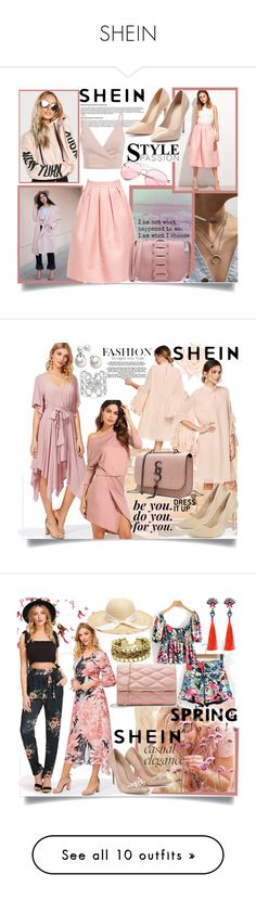 """""""SHEIN"""" by mery-2601 ❤ liked on Polyvore featuring modern and ELIN"""