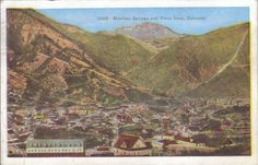 Manitou Springs and Pike's Peak Colorado 1949