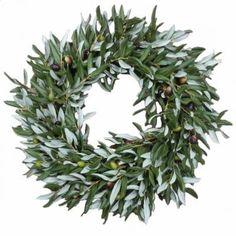 olive leaves wreath - Recherche Google