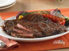 Italian-Style Marinated Steak #recipe