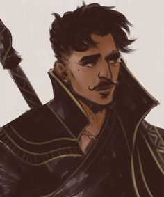 Dorian Pavus the mustache mage