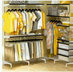 Trendy Bedroom Wardrobe Freestanding Walk In Walking Closet, Small Closet Organization, Closet Storage, Closet Racks, Closet Redo, Boys Closet, Stand Alone Closet, Elfa Closet, Closet Space