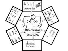 DETERMINANTS : CAHIER INTERACTIF et AFFICHAGE