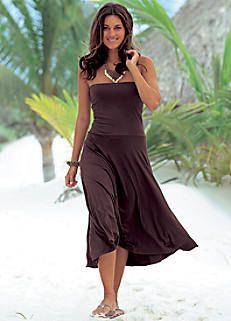 LASCANA Brown 3 in 1 Dress