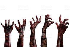 Znalezione obrazy dla zapytania zombie hand