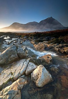 Stunning picture of River Coupall near Glen Coe