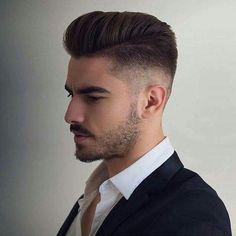 top 50 short men's hairstyles short pompadour #diyhairstyles2017