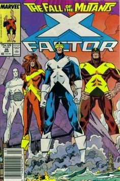 X-Factor # 26 Marvel Comics Vol. Marvel Girls, Marvel E Dc, Marvel Universe, Marvel Women, Jean Grey, Dc Comics, Deathstroke, Book Cover Art, Comic Book Covers