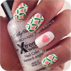 Instagram photo by danicaj #nail #nails #nailart