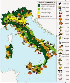 Risultati immagini per carte tematiche dell'italia da stampare