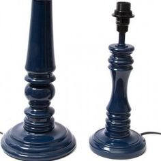 lamp blue tables table lamps lamp bases home accessories navy blue. Black Bedroom Furniture Sets. Home Design Ideas