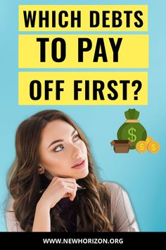 Getting out of debt can be hard work and take time. However, making the right planning and decision on choosing which debt pay off first is crucial. So here's a guide for choosing which financial obligation to prioritize.