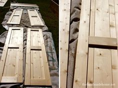 how to build shutters (diy shutters)   the handmade home
