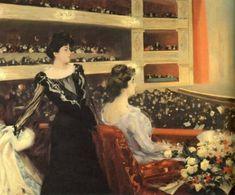"""""""Al Liceu"""", Ramón Casas (1901-1902)"""