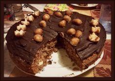 #marzipan #chocolate #cake #homemade