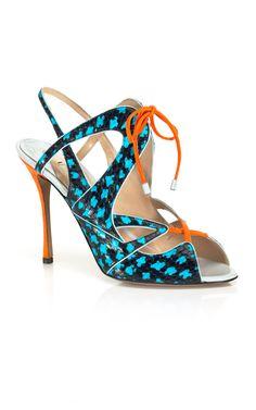 Shop Nicholas Kirkwood Strappy Stiletto Sandal at Moda Operandi