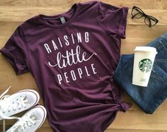 Hey, I found this really awesome Etsy listing at https://www.etsy.com/listing/463068430/raising-little-people-womens-relaxed-fit