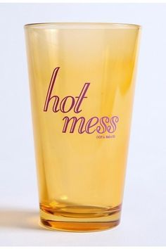 I want this glass.