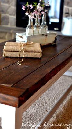 two toned  coffee tables | Two Tone Coffee Tables