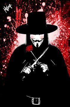 V for Vendetta on Pinterest   November, Masks and David