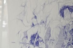 Ballpoint Pen on Paper < detail > Guy Drawing, Ballpoint Pen, Turtle, Detail, Drawings, Paper, Turtles, Tortoise Turtle, Sketches