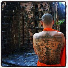 sak yant tatoo