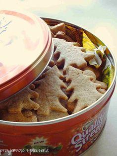 Przyjemność z pieczenia: Ciasteczka korzenne Apple Pie, Candy, Cooking, Sweet, Christmas Recipes, Food, Kitchen, Essen, Meals