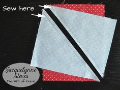 Half Rectangle Triangle Tutorial (no special ruler required! Triangle Quilt Pattern, Quilt Block Patterns, Pattern Blocks, Quilting Tutorials, Quilting Projects, Quilt Blocks Easy, Charm Square Quilt, Half Square Triangle Quilts, Quilt Border
