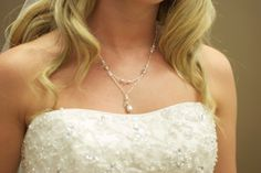 A personal favorite from my Etsy shop https://www.etsy.com/listing/228469719/bridal-layered-teardrop-pearl-and